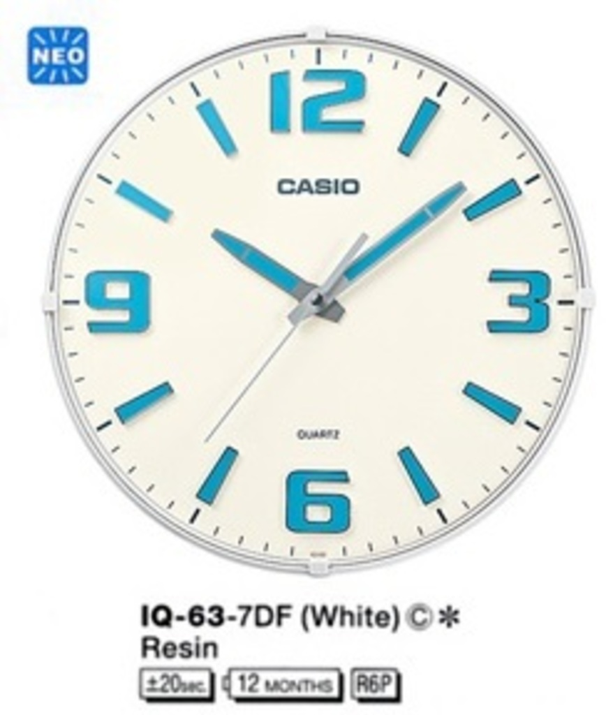 Настенные часы Casio IQ-63-7