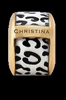Купить Шармы, Шарм CC - Leopard 630-G30-3White, Christina Charms