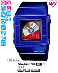 Годинник CASIO BGA-201-2EER - Дека