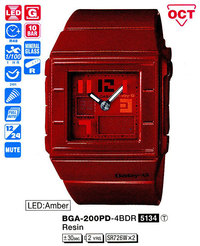 Часы CASIO BGA-200PD-4BER - ДЕКА
