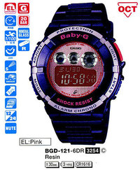 Часы CASIO BGD-121-6ER - ДЕКА