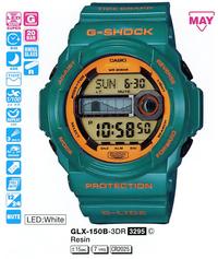 Часы CASIO GLX-150B-3ER - Дека