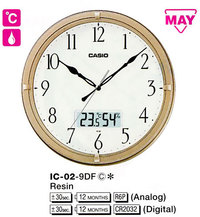 Часы CASIO IC-02-9DF - Дека