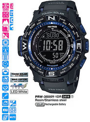 Часы CASIO PRW-3500Y-1ER - Дека