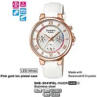 Часы CASIO SHE-3041PGL-7AUER - Дека