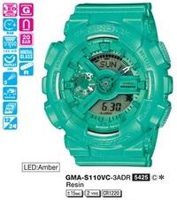 Часы CASIO GMA-S110VC-3AER - Дека