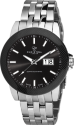 Часы CHRISTINA 519SBL-Carbon - ДЕКА