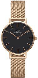 Часы Daniel Wellington DW00100217 Petite Melrose Black RG 28 - Дека