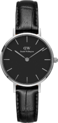 Часы Daniel Wellington DW00100235 Classic Petite 28 Reading S Black - Дека