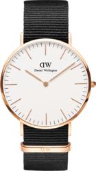 Часы Daniel Wellington DW00100257 Classic 40 Cornwall 40 RG White - Дека