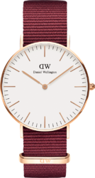 Часы Daniel Wellington DW00100271 Classic 36 Roselyn RG White - Дека