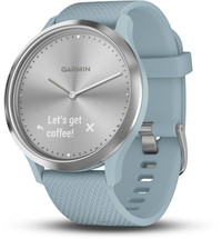 Смарт-часы Garmin Vivomove HR, WW, Sport, Seafoam-Silver, S/M - Дека